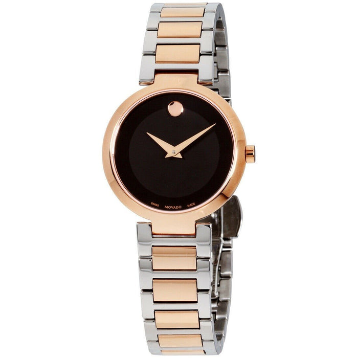 Movado Modern Classic Quartz Two-Tone Stainless Steel Watch 0607134