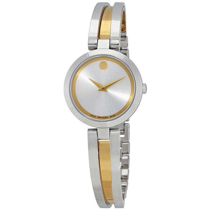 Movado Amorosa Quartz Two-Tone Stainless Steel Watch 0607150