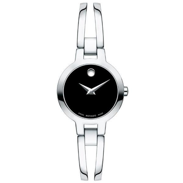 Movado Amorosa Quartz Stainless Steel Watch 0607153