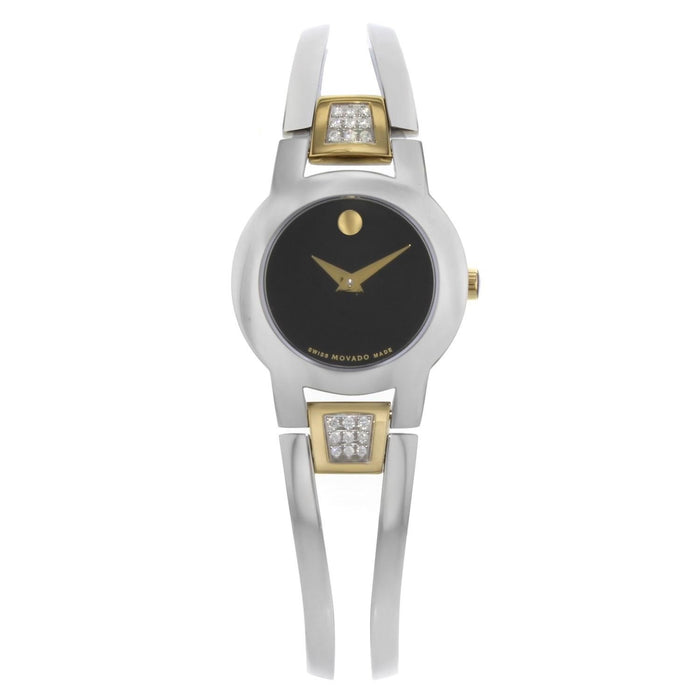 Movado Amorosa Quartz Stainless Steel Watch 0607185