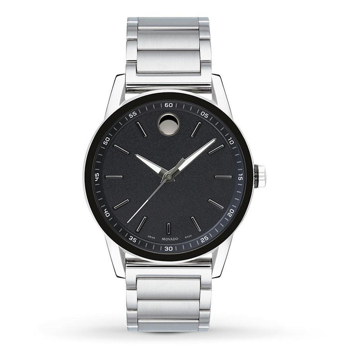 Movado Museum Quartz Stainless Steel Watch 0607188
