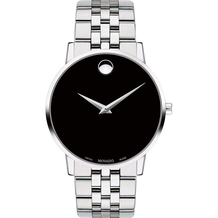 Movado Museum Classic Quartz Stainless Steel Watch 0607199