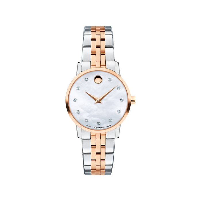 Movado Museum Classic Quartz Two-Tone Stainless Steel Watch 0607209
