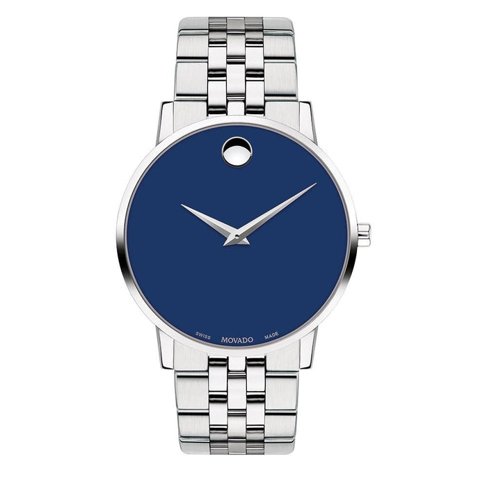 Movado Museum Quartz Stainless Steel Watch 0607212