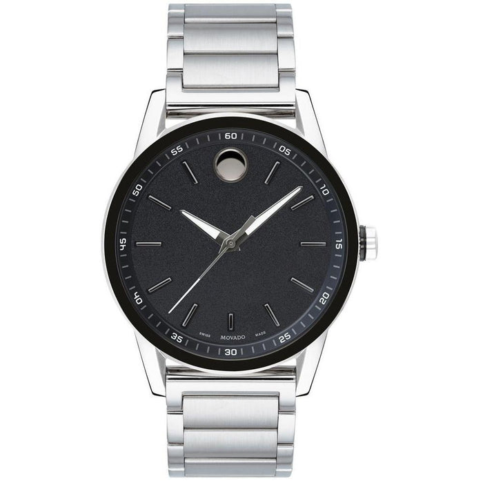 Movado Museum Quartz Stainless Steel Watch 0607225