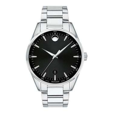 Movado Stratus Quartz Stainless Steel Watch 0607243