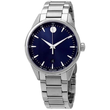 Movado Stratus Quartz Stainless Steel Watch 0607244