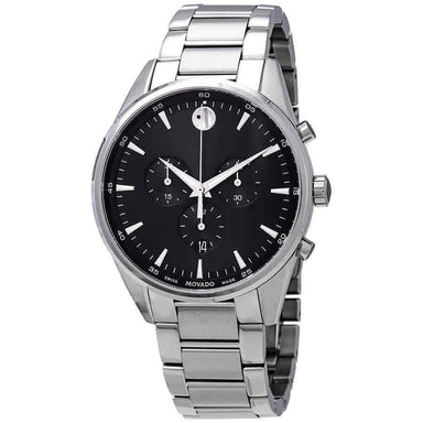 Movado Stratus Quartz Chronograph Stainless Steel Watch 0607247