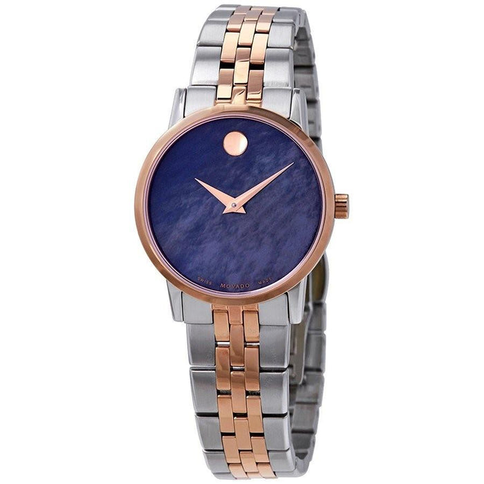 Movado Museum Classic Quartz Dot Two-Tone Stainless Steel Watch 0607268