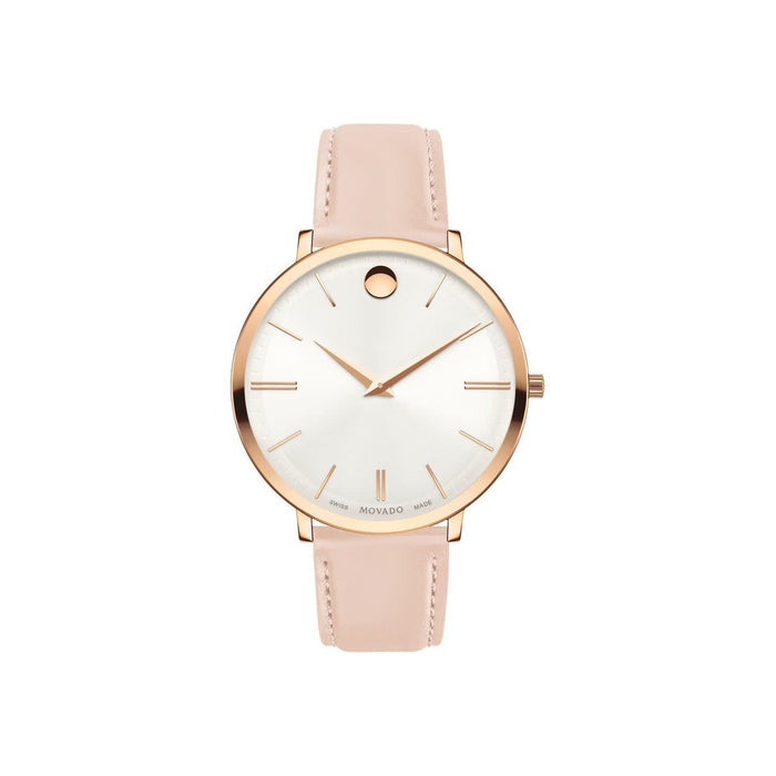 Movado Ultra Slim Quartz Two-Tone Stainless Steel Watch 0607373