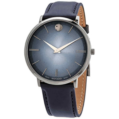 Movado Ultra Slim Quartz Stainless Steel Watch 0607400