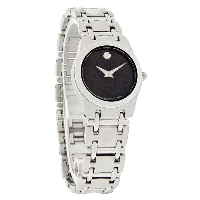 Movado Folio Quartz Stainless Steel Watch 0690985