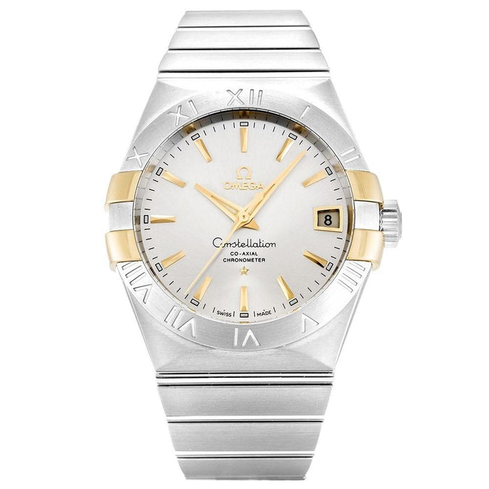 Omega Constellation Co-Axial Automatic Stainless Steel Watch 123.20.38.21.02.005