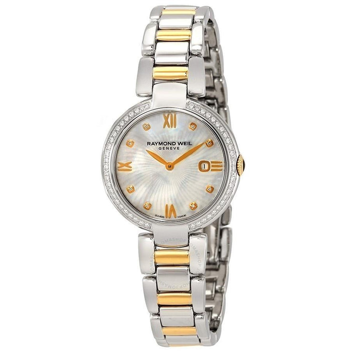 Raymond Weil Shine Quartz Diamond Two-Tone Stainless Steel Watch 1600-SPS-00995