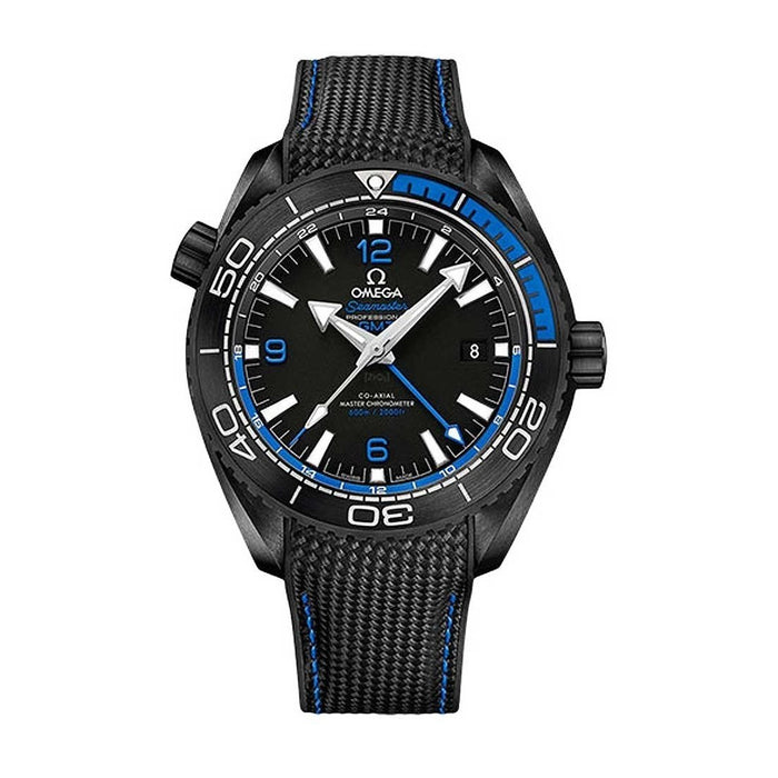 Omega Seamaster Planet Ocean Automatic Black Rubber Watch 215.92.46.22.01.002