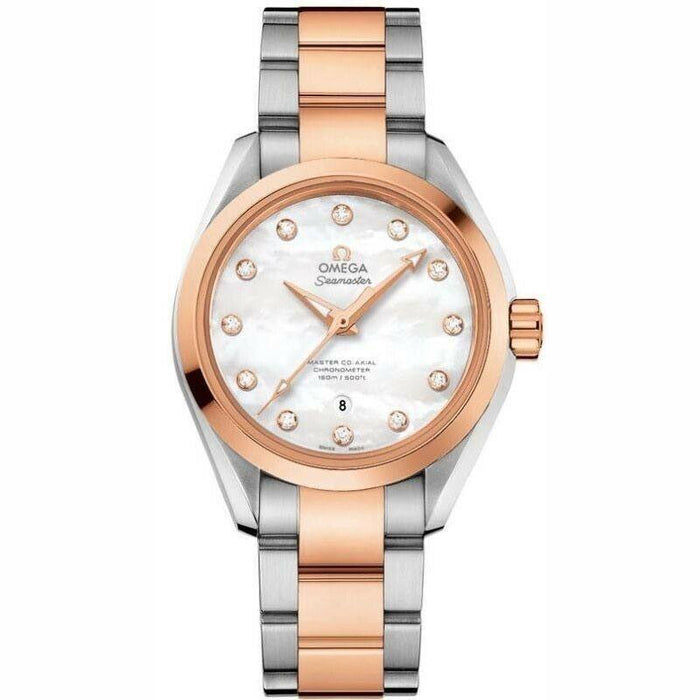 Omega Seamaster Aqua Terra Automatic Two-Tone 18kt Rose Gold and Stainless Steel Watch 231.20.34.20.55.001