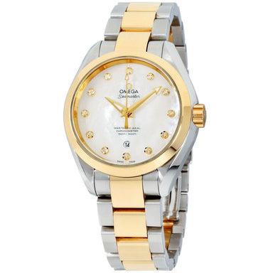 Omega Seamaster Aqua Terra Automatic Two-Tone 18kt Gold and Stainless Steel Watch 231.20.34.20.55.002