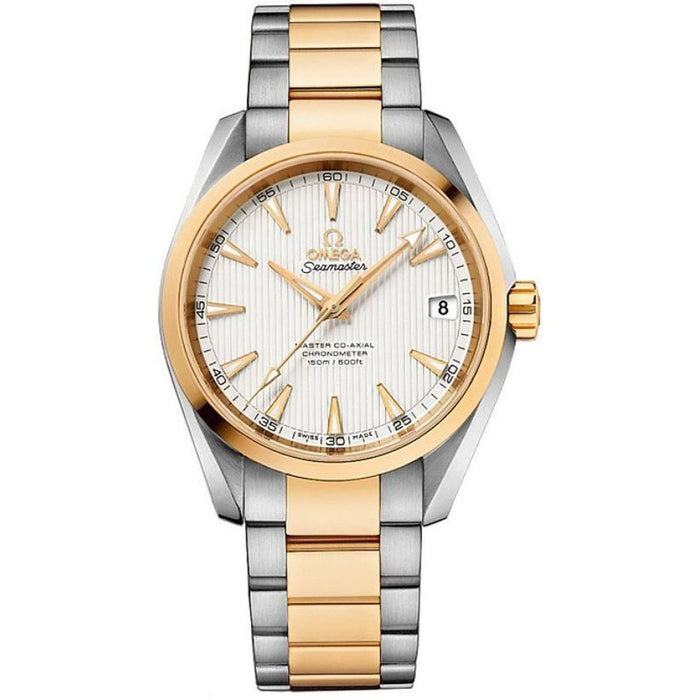 Omega Seamaster Aqua Terra Automatic Two-Tone 18kt Gold and Stainless Steel Watch 231.20.39.21.02.002