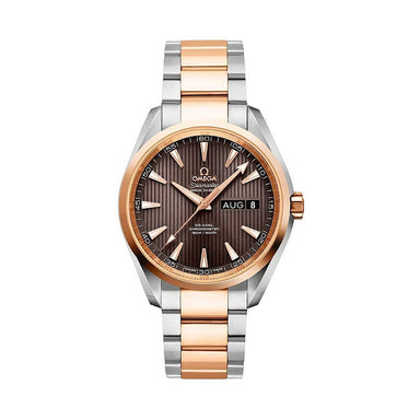 Omega Aqua Terra Annual Calendar Automatic Two-Tone 18kt Rose Gold and Stainless Steel Watch 231.20.39.22.06.001