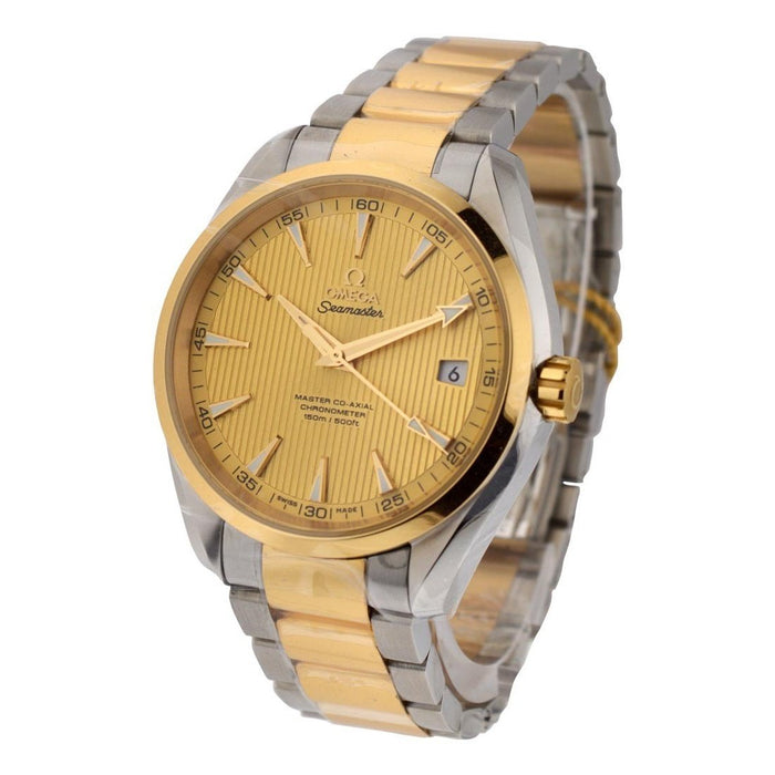 Omega Seamaster Aqua Terra Automatic Two-Tone 18kt Gold and Stainless Steel Watch 231.20.42.21.08.001