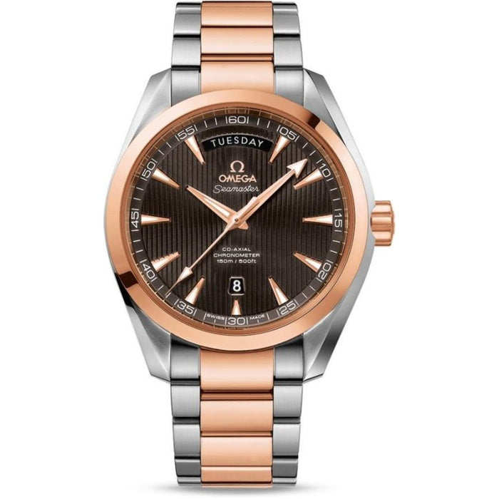 Omega Seamaster Aqua Terra Automatic Two-Tone 18kt Rose Gold and Stainless Steel Watch 231.20.42.22.06.001
