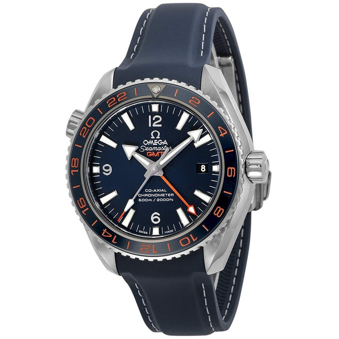 Omega Seamaster Planet Ocean Automatic Blue Rubber Watch 232.32.44.22.03.001
