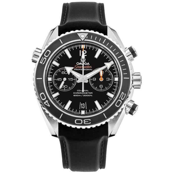 Omega Seamaster Planet Ocean Automatic Chronograph Black Rubber Watch 232.32.46.51.01.003