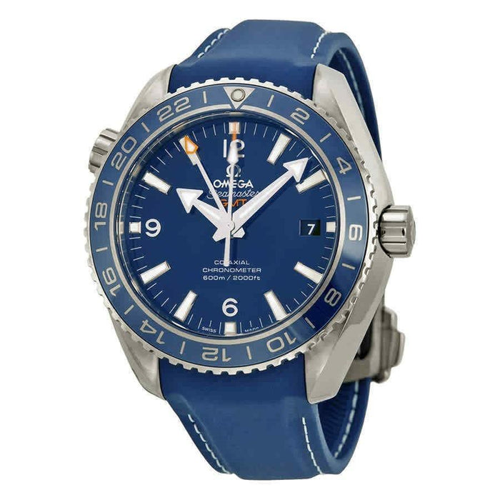 Omega Seamaster Planet Ocean Automatic Blue Rubber Watch 232.92.44.22.03.001