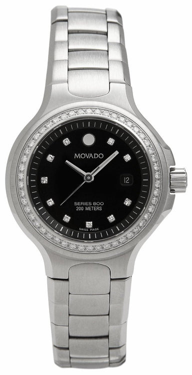 Movado Series 800 Quartz Stainless Steel Watch 2600054