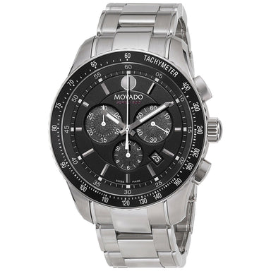 Movado 800 Performance Quartz Chronograph Stainless Steel Watch 2600094