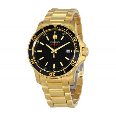 Movado Series 800 Quartz Gold-Tone Stainless Steel Watch 2600145