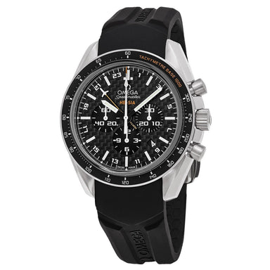 Omega Speedmaster Automatic Chronograph Black Rubber Watch 321.92.44.52.01.001