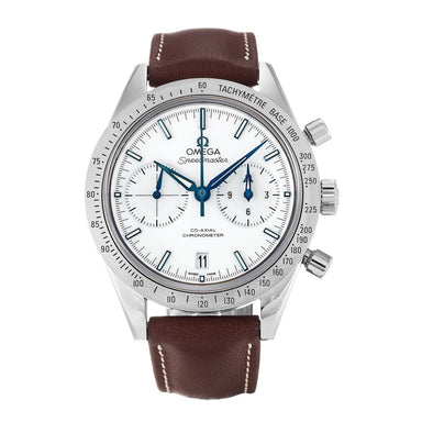 Omega Speedmaster  Calibre 9300 Automatic Chronometer Chronograph Automatic Brown Leather Watch 331.92.42.51.04.001
