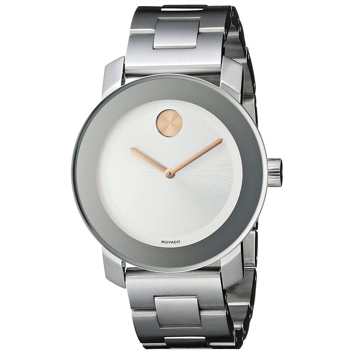 Movado Bold Quartz Stainless Steel Watch 3600084