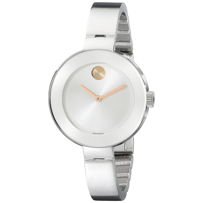Movado Bold Quartz Stainless Steel Watch 3600194