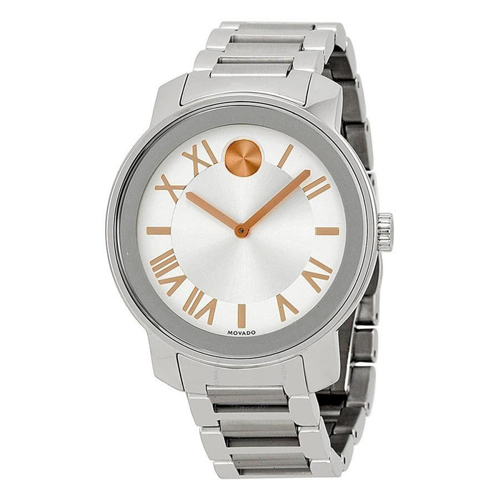 Movado Bold Quartz Stainless Steel Watch 3600196