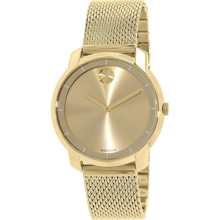 Movado Bold Quartz Gold-Tone Stainless Steel Watch 3600242