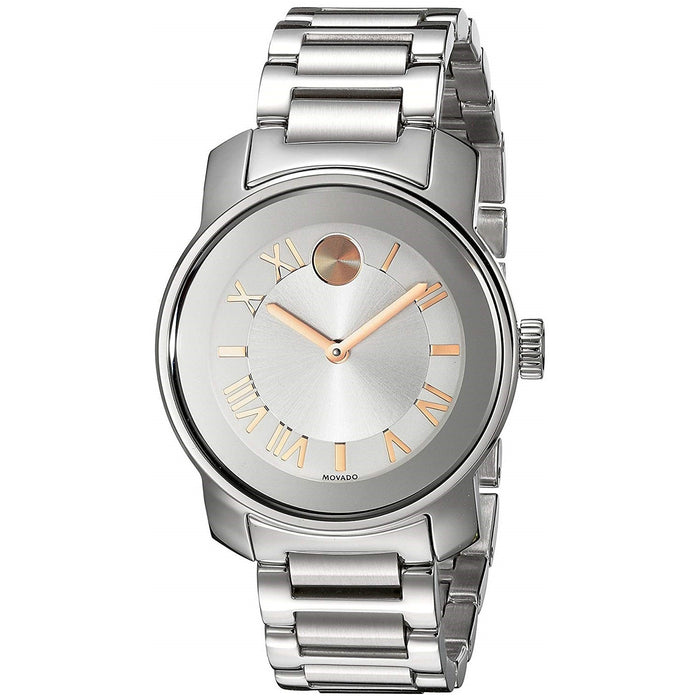 Movado Bold Quartz Stainless Steel Watch 3600244