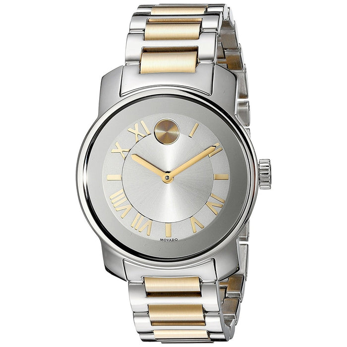 Movado Bold Quartz Two-Tone Stainless Steel Watch 3600245