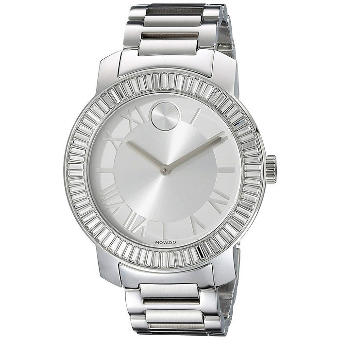 Movado Bold Quartz Crystal Stainless Steel Watch 3600249