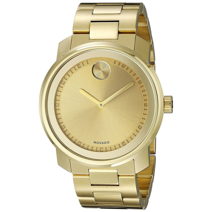 Movado Bold Quartz Gold-tone Stainless Steel Watch 3600258