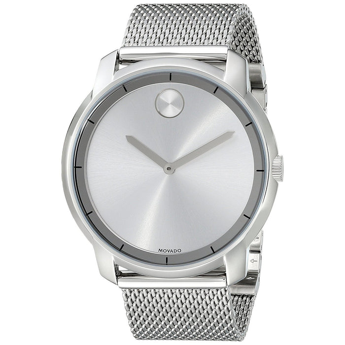 Movado Bold Quartz Stainless Steel Watch 3600260