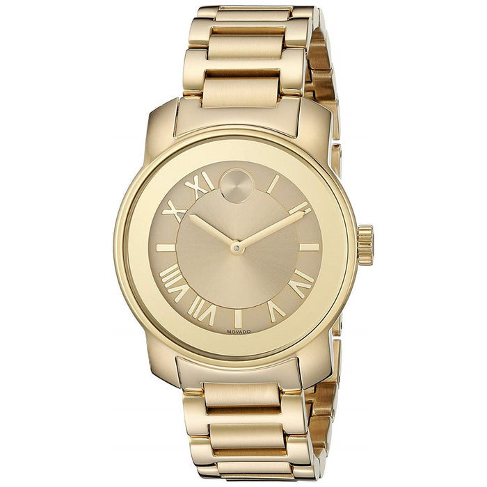 Movado Bold Quartz Gold-tone Stainless Steel Watch 3600323