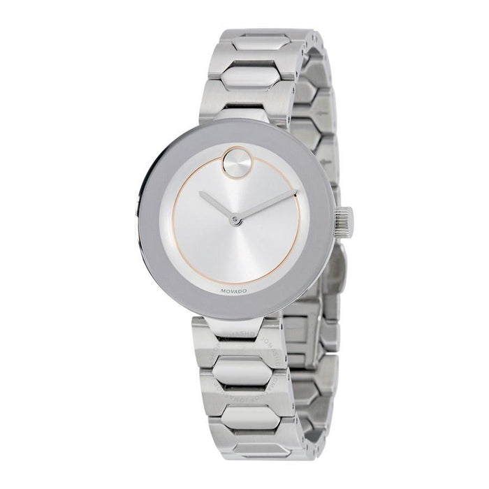 Movado Bold Quartz Stainless Steel Watch 3600381