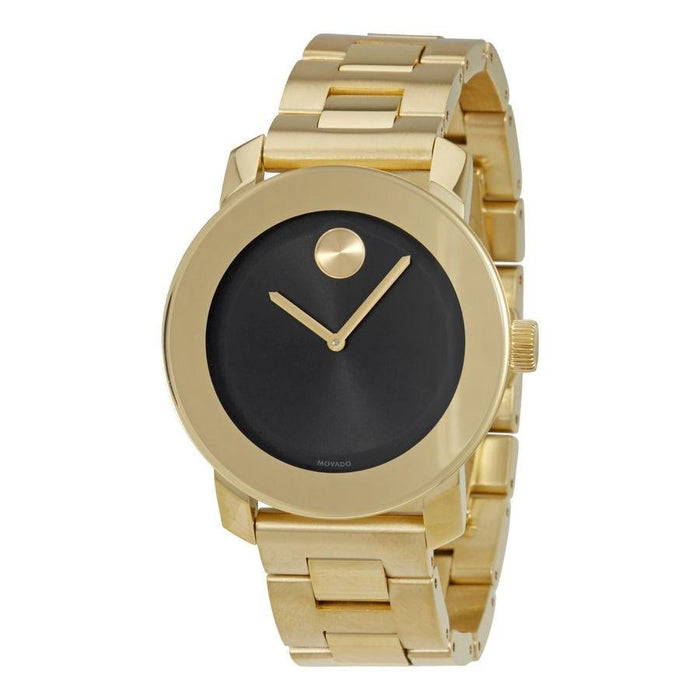 Movado Bold Quartz Gold-Tone Stainless Steel Watch 3600397