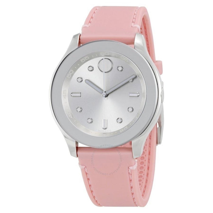 Movado Bold Quartz Pink Leather Watch 3600414