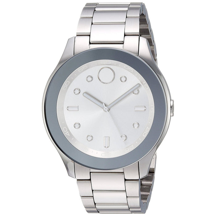 Movado Bold Quartz Stainless Steel Watch 3600415
