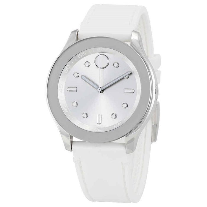 Movado Bold Quartz White Silicone Watch 3600419