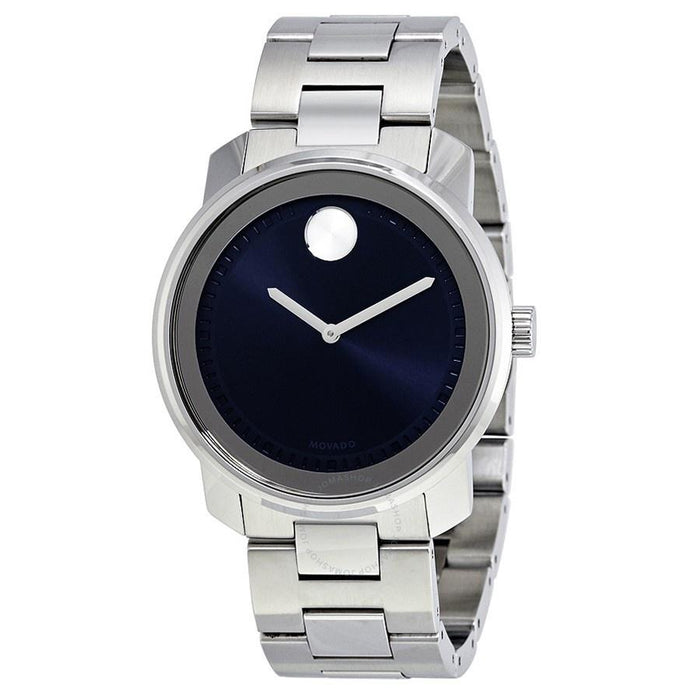 Movado Bold Quartz Stainless Steel Watch 3600423