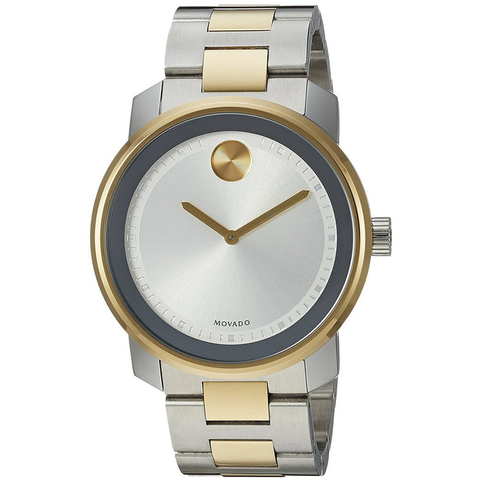 Movado Bold Quartz Chronograph Two-Tone Stainless Steel Watch 3600431